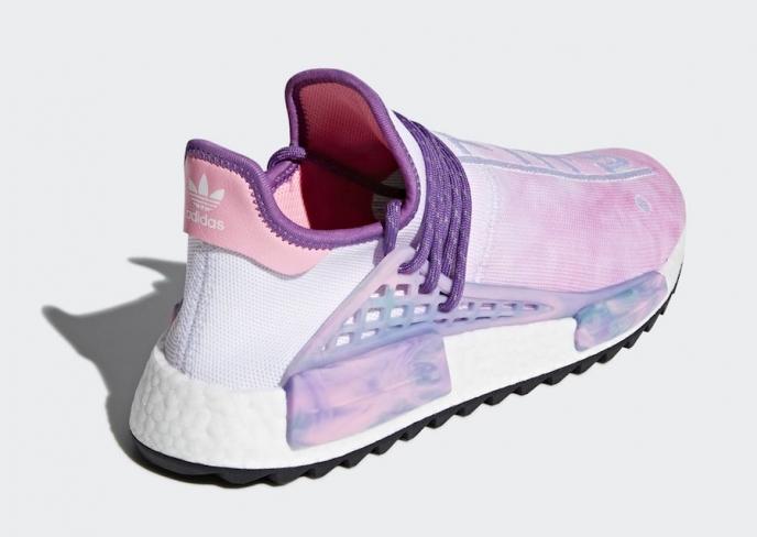 classic fit 99d21 0f5b9 Pharrell x adidas NMD Hu Trail Holi Pink Glow - KicksOnFire.com