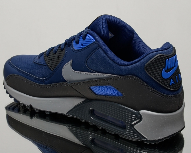 sports shoes dc481 420ca Nike Air Max 90 Binary Blue - KicksOnFire.com