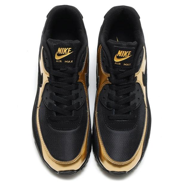 Nike Air Max 90 Essential BlackMetallic Gold