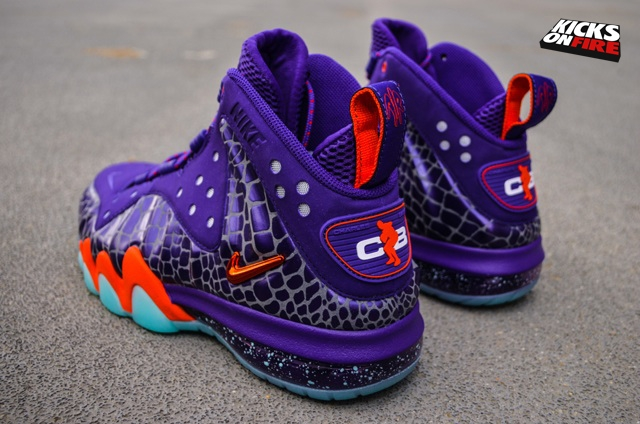 purchase cheap b293f efbf6 Nike Barkley Posite Max Suns - KicksOnFire.com