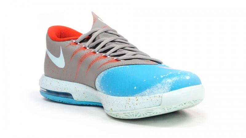 66f43eb4c96e Nike KD 6 - Maryland Blue Crab - KicksOnFire.com