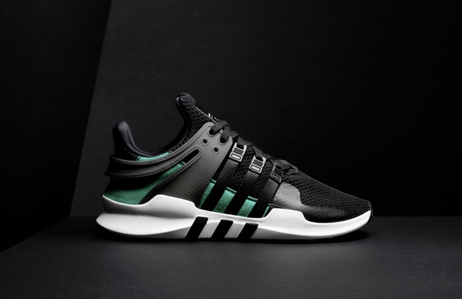 adidas EQT Support ADV Black Green - KicksOnFire.com