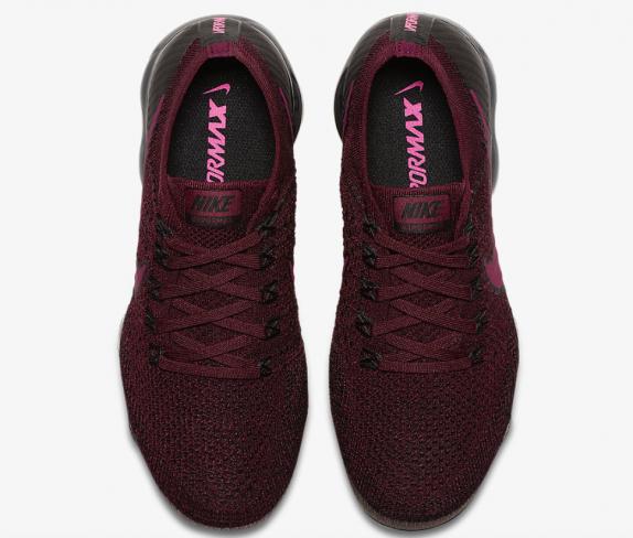 BordeauxTea BerryBlack Nike Air VaporMax 849557 605
