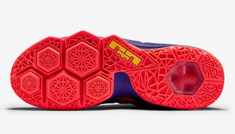 low priced 82a9f 7615b Nike LeBron 12 Low - Court Purple   Bright Crimson - KicksOnFire.com