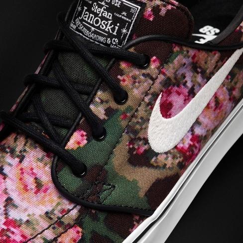 Nike SB Stefan Janoski - Floral Digi Camo - KicksOnFire.com 266bf1052