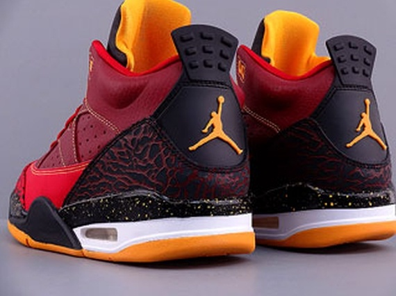 buy popular 1a575 a82bb Jordan Son of Mars Low – Team Red – Gym Red – University Gold -  KicksOnFire.com