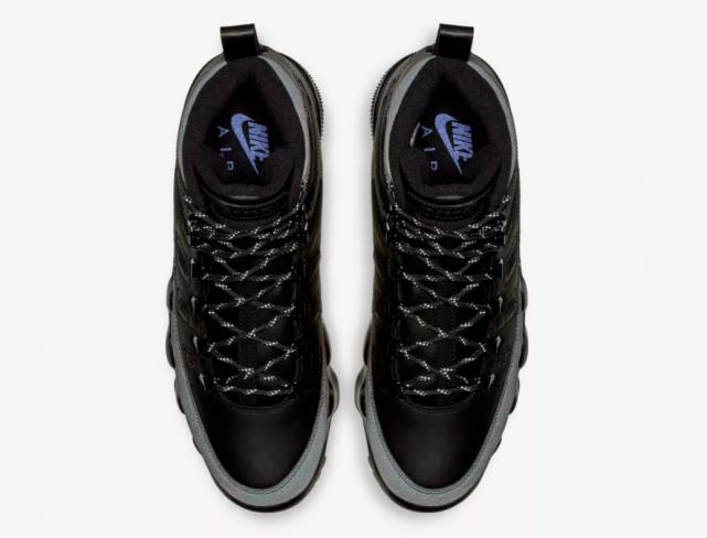 e84fa79abc73 Air Jordan 9 Boot Black Concord - KicksOnFire.com