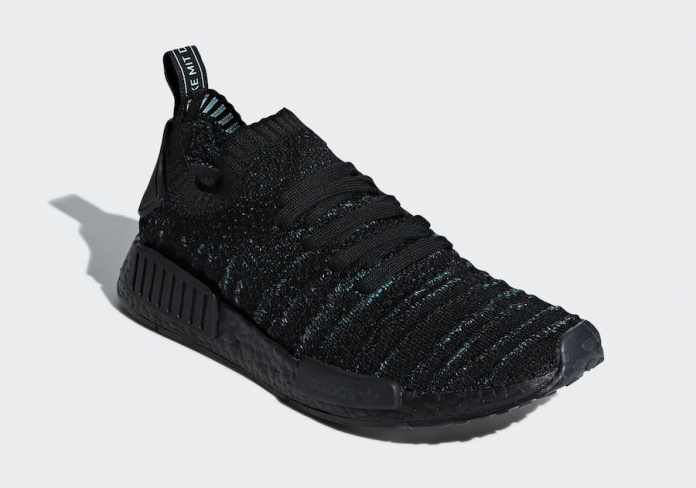 Parley x adidas NMD R1 STLT Core Black. Buy Now From  129 8a3841a638538