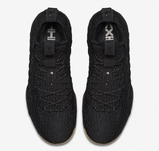 a7699657c1a92 Nike LeBron 15 Black Gum - KicksOnFire.com
