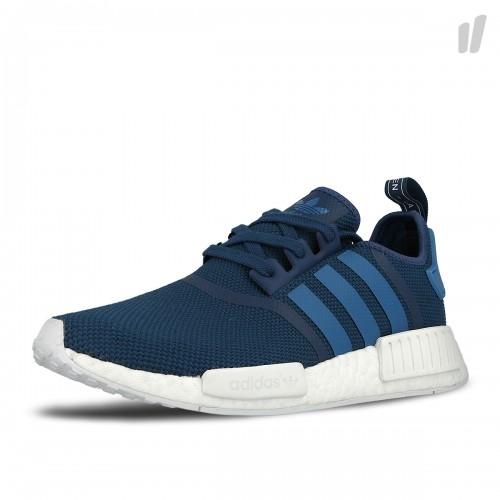 bdab9ef87651 adidas NMD R1 Blue White - KicksOnFire.com