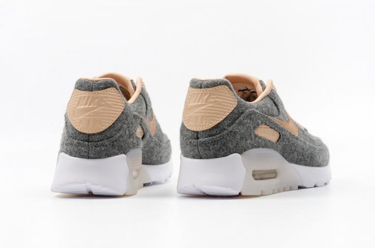 Nike W Aire Max 90 Ultra Premium - Vachetta Lana Foamposites Bronceado oW08as