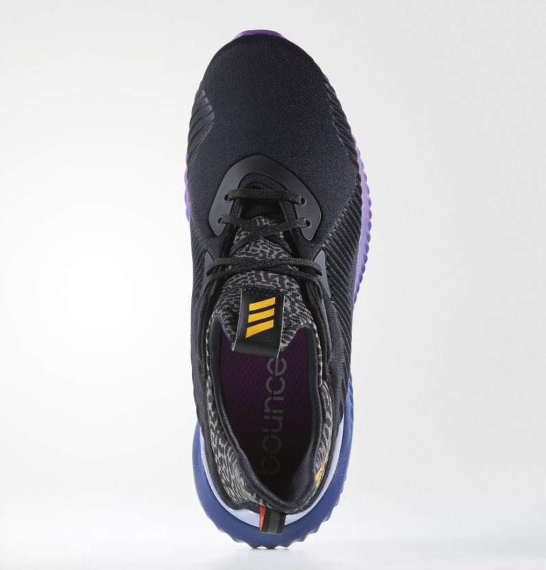 hot sales 839fc 0b08b adidas AlphaBOUNCE Core Black Shock Purple - KicksOnFire.com