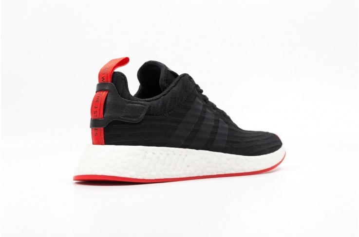 hot sales low price sale coupon code adidas NMD R2 Core Black Red - KicksOnFire.com