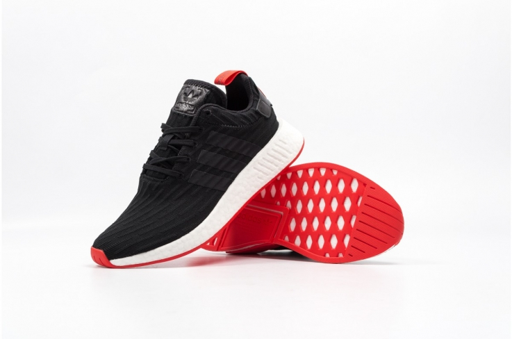 cbd4d20a233 adidas NMD R2 Core Black Red - KicksOnFire.com
