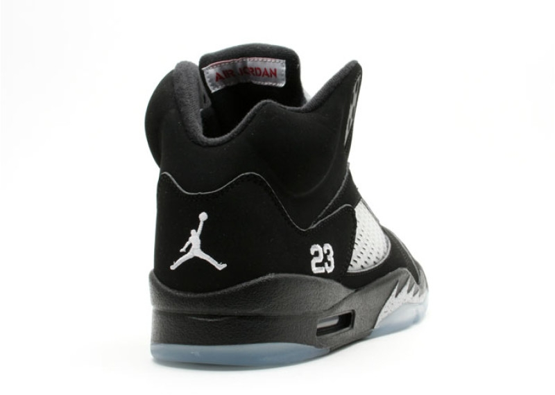 pretty nice ad6ff 30253 Air Jordan 5 Black Metallic 2007 - KicksOnFire.com