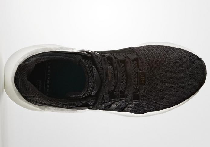 sports shoes a61ec c77ad adidas EQT Support 93 17 Milled Leather Black - KicksOnFire.com