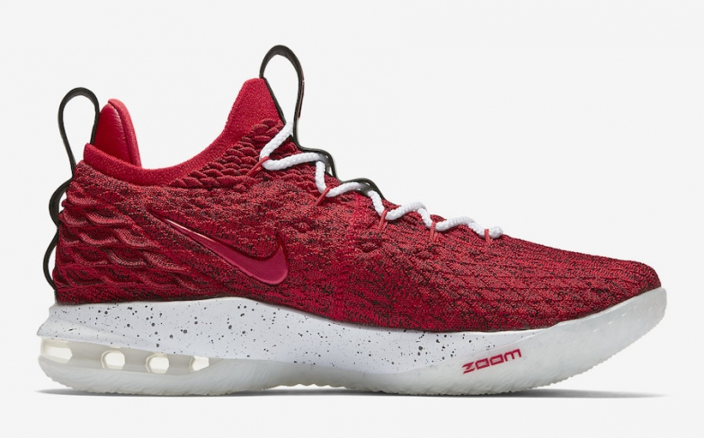 new product 298a9 2c5ef Nike LeBron 15 Low University Red - KicksOnFire.com