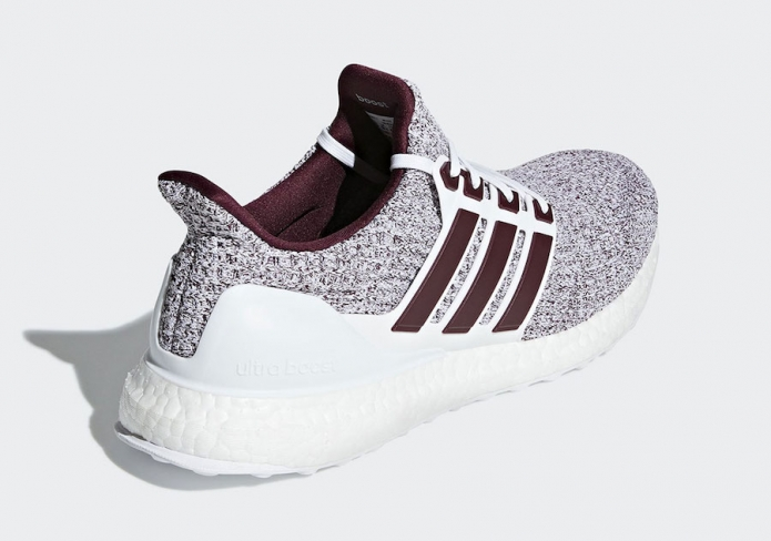 adidas Ultra Boost 4.0 White Burgundy - KicksOnFire.com 719673e97