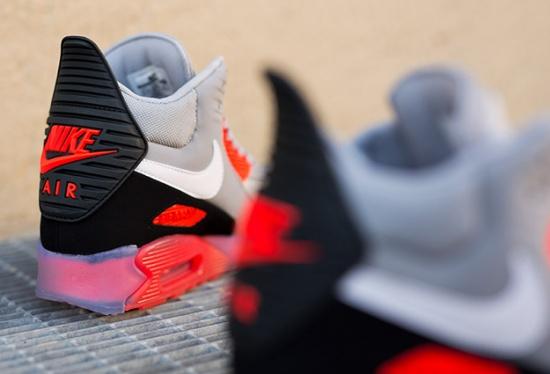 Nike Air Max 90 Zapatillas De Deporte De Hielo De Arranque Sitio Oficial De Ebay LXMCgwAr0