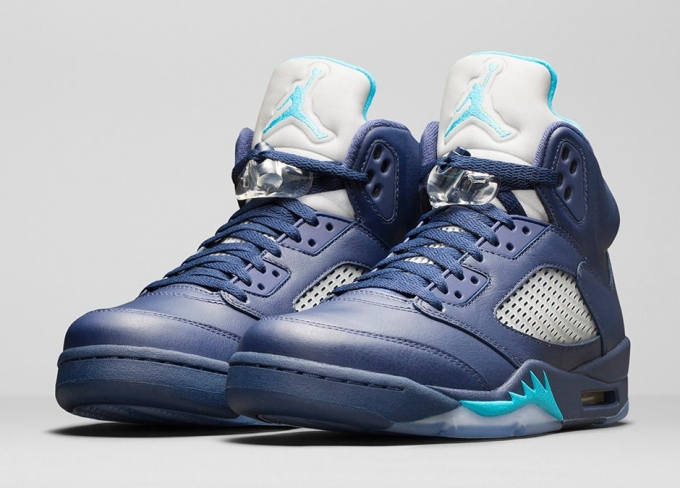 the latest 52359 964af Air Jordan 5 Midnight Navy - KicksOnFire.com