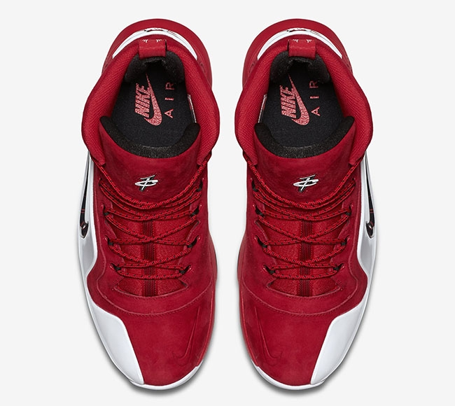 best service 7f42a fa863 ... Suede-University Red Black-White  Nike Air Penny 6 - University Red.  Buy Now From 159 ...