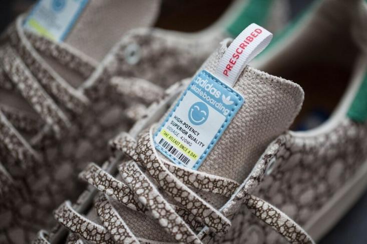 BAIT Adidas Stan Smith Vulc Hemp Happy 420 | fashion