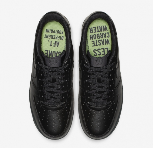 Nike Air Force 1 Flyleather Triple Black BV1391 001 Release
