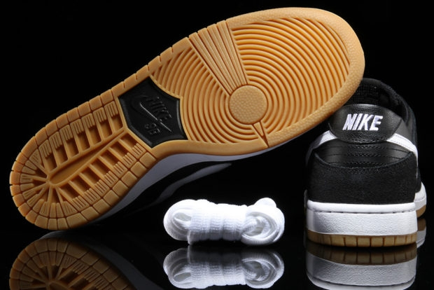 Nike SB Dunk Low Pro Black White Gum - KicksOnFire.com