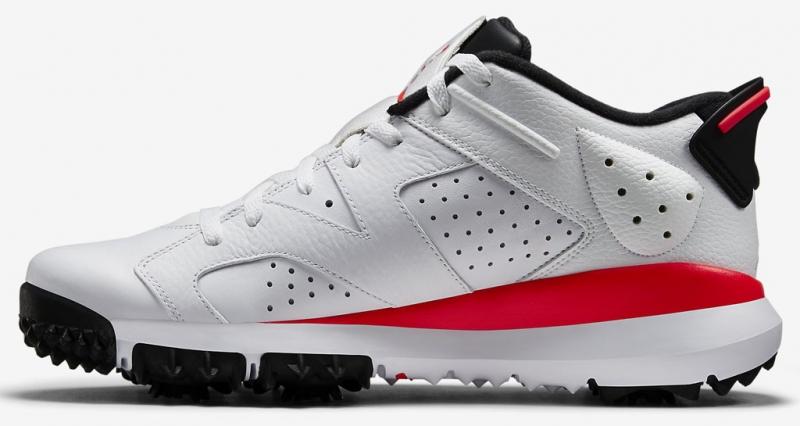 Air Jordan 6 Retro Low Golf - White Infrared - KicksOnFire.com d6d009fb11b1