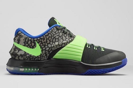 size 40 8f088 525ae Nike KD 7 - Electric Eel - KicksOnFire.com