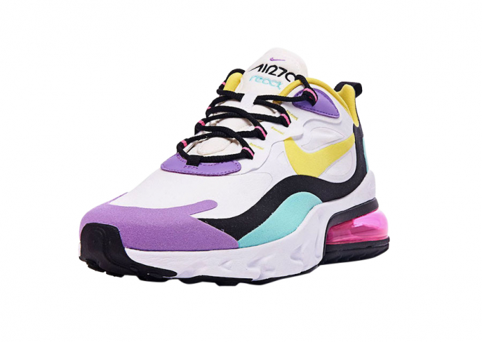 Nike Air Max 270 React Bright Violet Kicksonfire Com