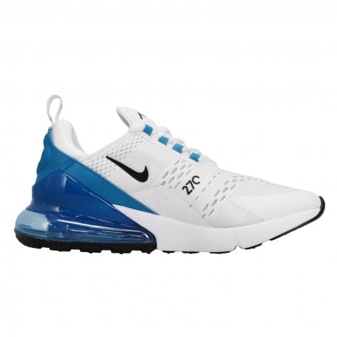 Nike Air Max 270 White Black Photo Blue Kicksonfire Com