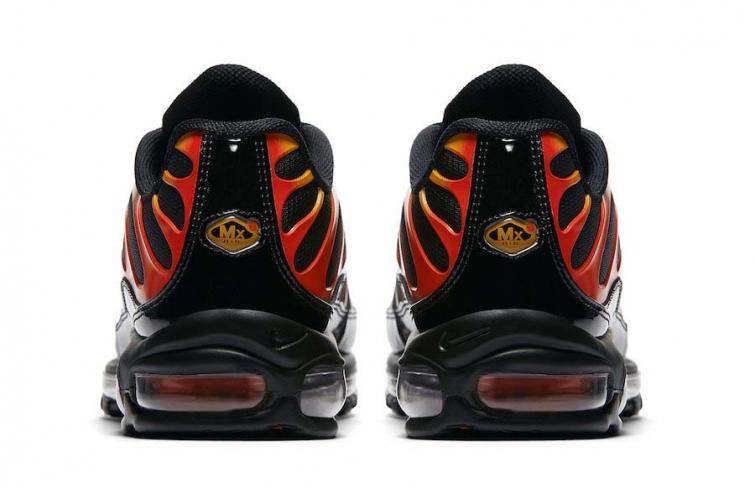 air max 97 plus black black engine shock orange