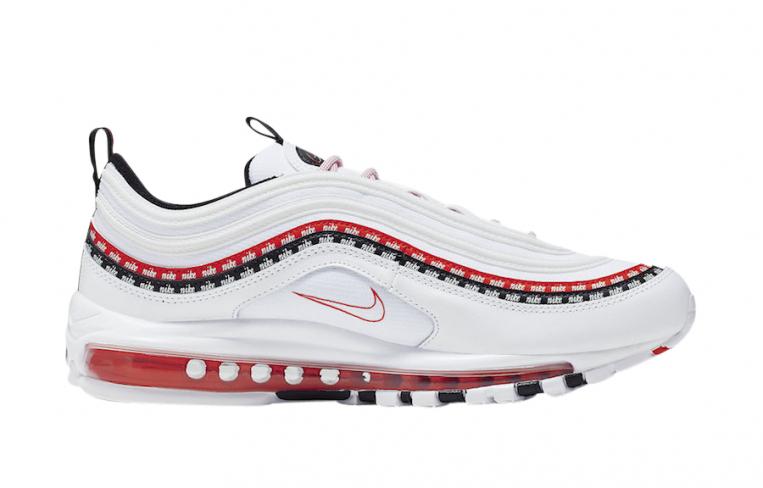 Nike Air Max 97 White University Red Kicksonfire Com