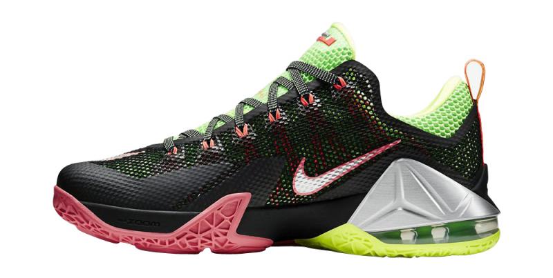 Nike LeBron 12 Low - Black / Metallic