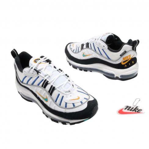 Nike Wmns Air Max 98 Premium White Teal Nebula Kicksonfire Com