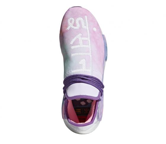 Pharrell X Adidas Nmd Hu Trail Holi Pink Glow Kicksonfire Com
