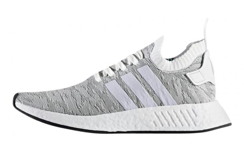 Adidas Nmd R2 Primeknit Grey White Kicksonfire Com