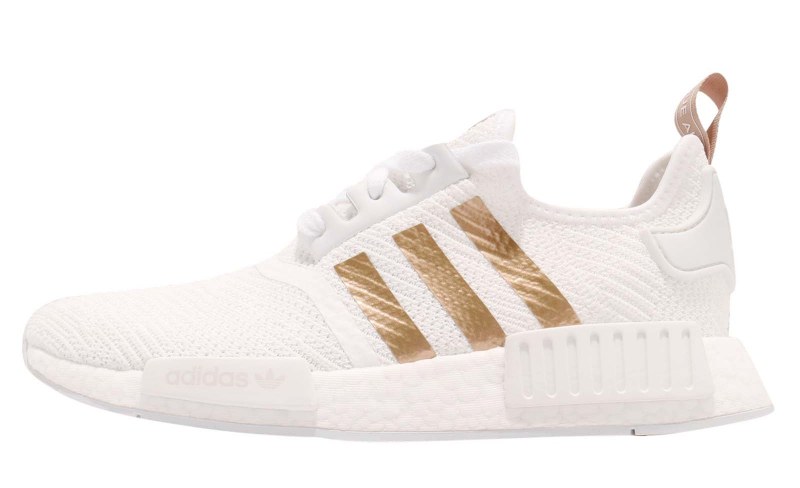 Adidas Wmns Nmd R1 Footwear White Gold Kicksonfire Com