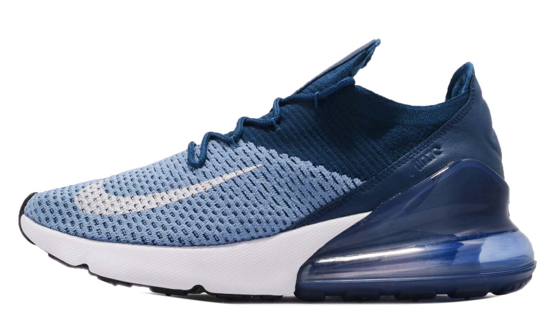 Nike Air Max 270 Flyknit Work Blue Kicksonfire Com