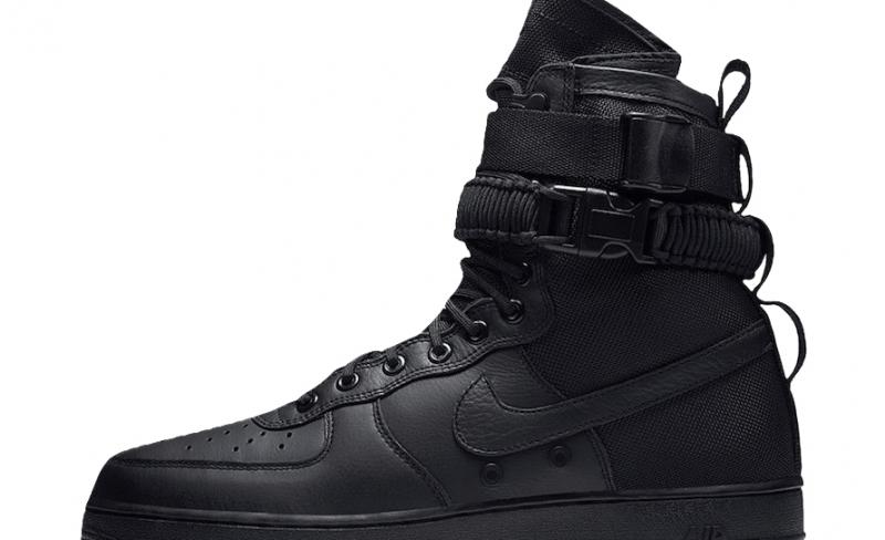 Nike Special Field Air Force 1 Triple Black