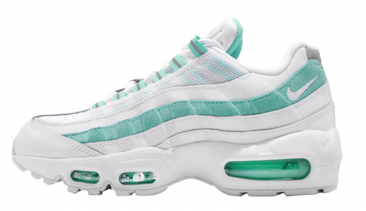 The Nike Air Max 95 Goes All White With An Icy Outsole For Spring ...