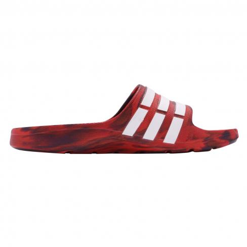 adidas Duramo Slide Red - KicksOnFire.com