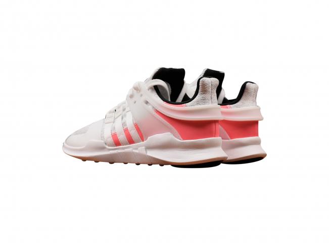adidas EQT Support ADV Crystal White Turbo Red - KicksOnFire.com