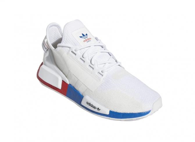 adidas NMD R1 V2 White Red Blue