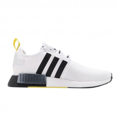 adidas nmd r1 black and yellow