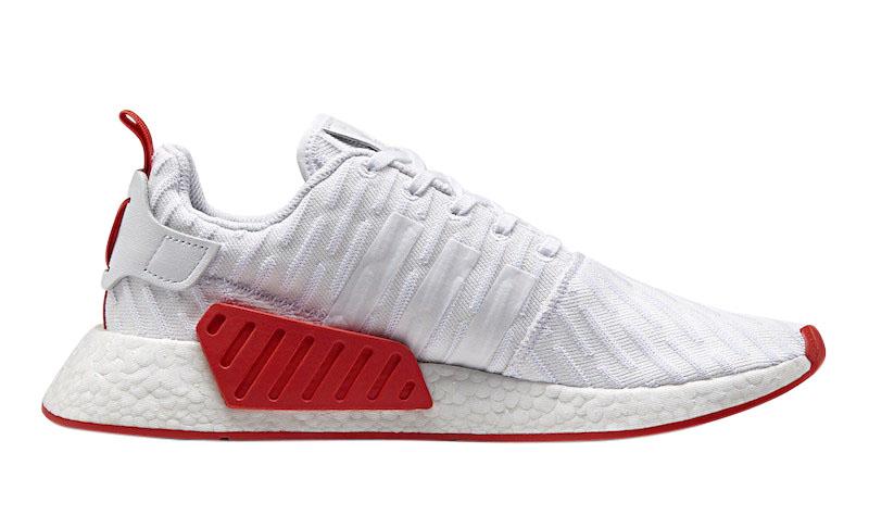 adidas NMD R2 White Red - KicksOnFire.com