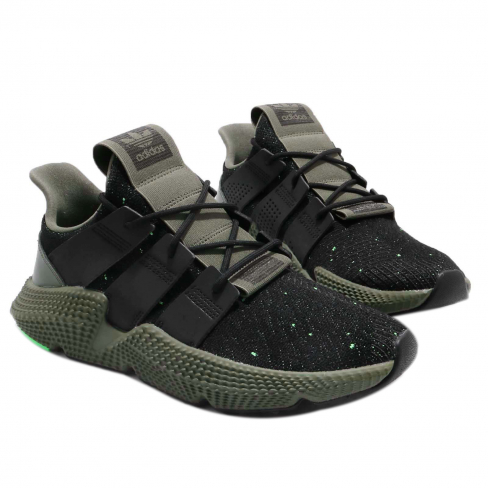 adidas Prophere Core Black Shock Lime