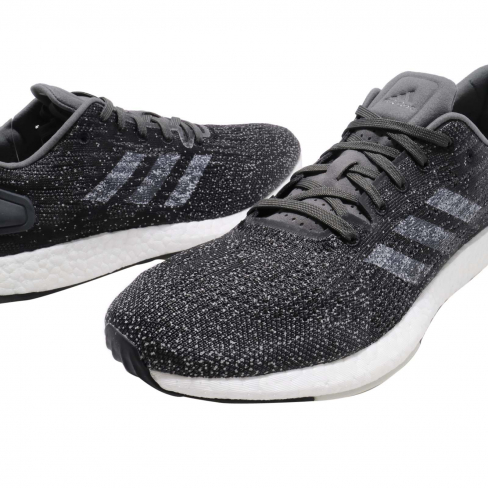 Ascensor público Venta ambulante  adidas PureBoost DPR Grey Six Grey One Raw White - KicksOnFire.com