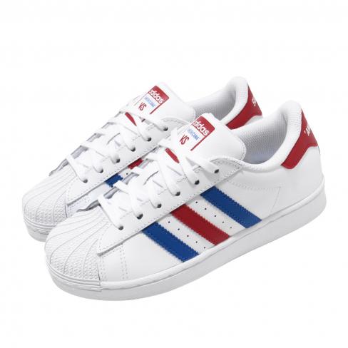 adidas Superstar GS Footwear White Blue
